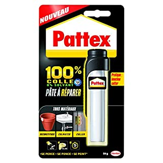 Pattex 1875862 Repair Express Reparaturkleber/Reparaturmasse, Epoxid, 64 g