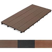Dalle Terrasse Casa Pura® Bois Composite | Revêtement Extérieur Ou  Intérieur | Clipsable | Tailles