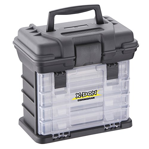 Cormoran K-DON Tackle Box Model 1005 - Caja para accesorios de pesca