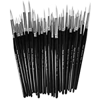 Major Brushes Sable Substitute Size 8 Pack 10