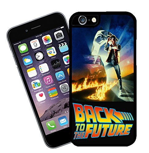 Back to the Future movie iphone case - models 4 to 7