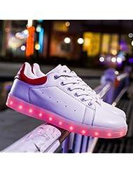 MhC Scarpe da Donna Primavera Autunno LED Scarpe Comfort Crib Shoes Ankle Strap Snow Boots Light Up Shoes Sneakers Scarpe da Basket Fitness & Cross Training