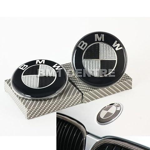 BMW E32E36E38E60E61F01F02Kohlefaser vorne hinten Motorhaube Kapuze Trunk Emblem