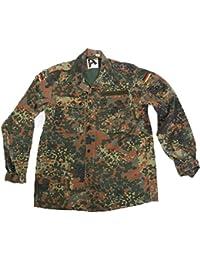 Fratelliditalia Camicia uomo militare tedesca flecktarn tasche originale  bottoni e zip 77dd1cb3e08e