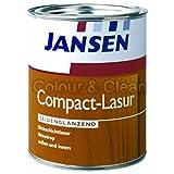 JANSEN Compact-Lasur Dickschichtlasur für Holz 750ml eiche-hell