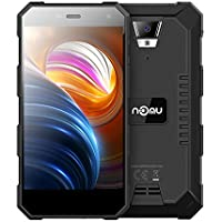 NOMU S10 Pro Outdoor Handy - 5,0 Zoll Smartphone Android 7.0 4G-LTE Dual SIM MTK6737T Quad-Core 3 GB RAM + 32 GB ROM 8.0MP Kamera, 5000mAh Akku, IP 68+ Wasserdichtes Staubdichtes Stoßfestes (Schwarz)