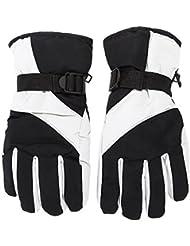 Men Ski Gloves - TOOGOO(R) Men Ski Gloves Thermal Waterproof For Winter Outdoor Sports Snowboard (Grey)