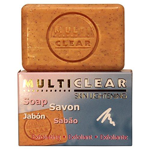 Jabón exfoliante aclarador. MULTICLEAR - 100g. Antimanchas