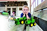 John Deere Mini Sandbox Tractor and Dump Truck Preschool Farm Toy Playset