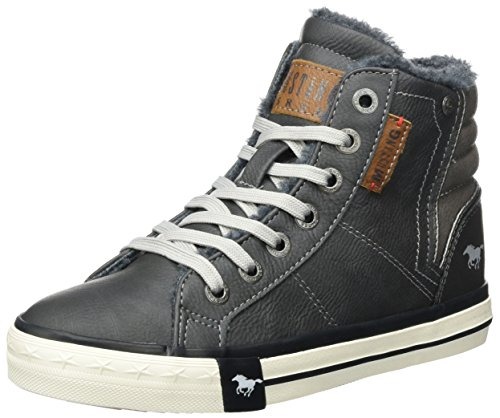 (Mustang Unisex-Kinder 5024-602-259 High-Top, Grau (259 Graphit), 36 EU)