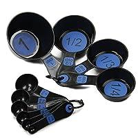 Chef Craft 42018 Measuring Set, Blue
