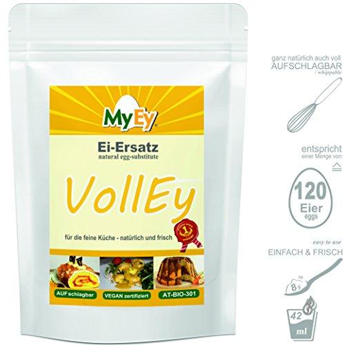 MyEy VollEy Ei-Ersatz, natürlich & voll aufschlagbar, universell einsetzbar, lactosefrei & vegan, 1er Pack (1 x 1 kg) - 4