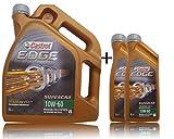2x 1 L + 5 L = 7 Liter Castrol Edge Titanium Supercar 10W-60 Motor-Öl Motoren-Öl inkl. Castrol Ölwechsel-Anhänger; Spezifikationen/Freigaben: ACEA A3/B3, A3/B4; API SN/CF; VW 501 01 / 505 00; Exklusive BM