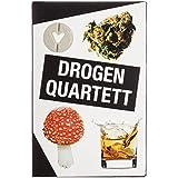 Drogen Quartett - Das ultimative Rauschgift Kartenspiel Spielquartett