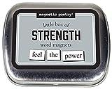 magnetisch Poesie–Little Box of Stärke–Worte für Kühlschrank–Schreiben Gedichte und Buchstaben auf Den Kühlschrank