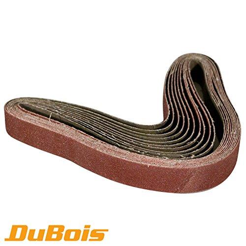 DuBois r11130025x 762mm-100Körnung Aluminium Oxid Schleifbänder, 10er Pack 30 Inch Sander Belt