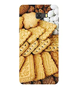 PrintVisa Designer Back Case Cover for Samsung Galaxy A9 Pro (2016)::Samsung A9 Pro Duos (2016) with dual-SIM card slots (Multiple Biscuits Pattern)