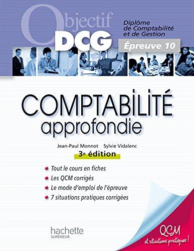 Objectif DCG - Comptabilité approfondie
