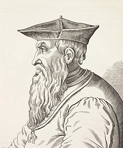 Ken Welsh/Design Pics - Andrea Doria 1466-1560. Italian Admiral. from Military and Religious Life In The Middle Ages by Paul Lacroix Published London Circa 1880. Photo Print (66,04 x 81,28 cm) -