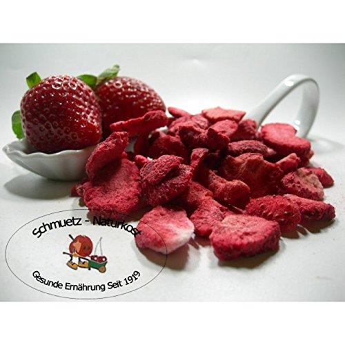 Erdbeeren / Scheiben gefriergetrocknet, ohne Zusätze 250g von Schmütz-Naturkost, Trockenfrüchte