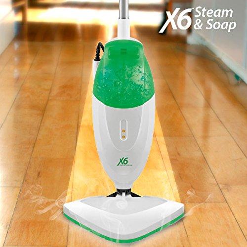 Steam & Soap X6 Dampfmopp, Dampfbesen, Dampfreiniger