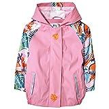 Kinder Regenjacke-Wasserdichte Regenjacke Regenjacke für Jungen und Mädchen