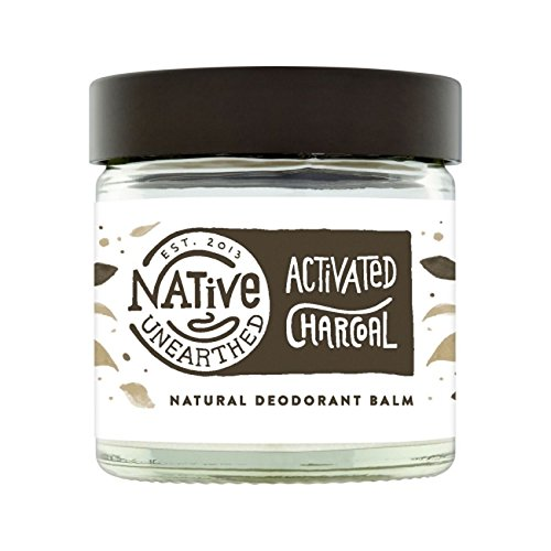 Native Heben Deo Natural, Aktivkohle, 60 ml (Deodorant-pulver)