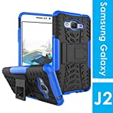 Noise Shockproof Protective Back Cover for Samsung Galaxy J2-6 / Pro (Blue)