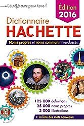 Dictionnaire Hachette 2016 France