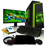 Best Gaming Pcs - ADMI GAMING PC PACKAGE: 21.5 Inch 1080p Monitor Review