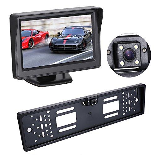 Neue EU 170 ° Ansicht Winkel IP68 Auto Platten Kamera Installationssatz Nachtsicht Kfz Kennzeichen...
