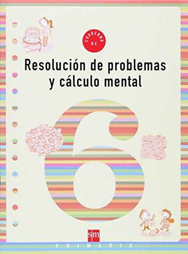 Portada del libro Cuaderno 6 de resolución de problemas y cálculo mental. 2 Primaria - 9788434897311