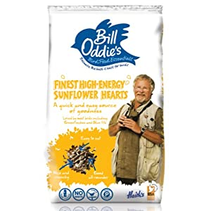Bill Oddies Sunflower Hearts Bird Food 2kg from Monster Pet Supplies