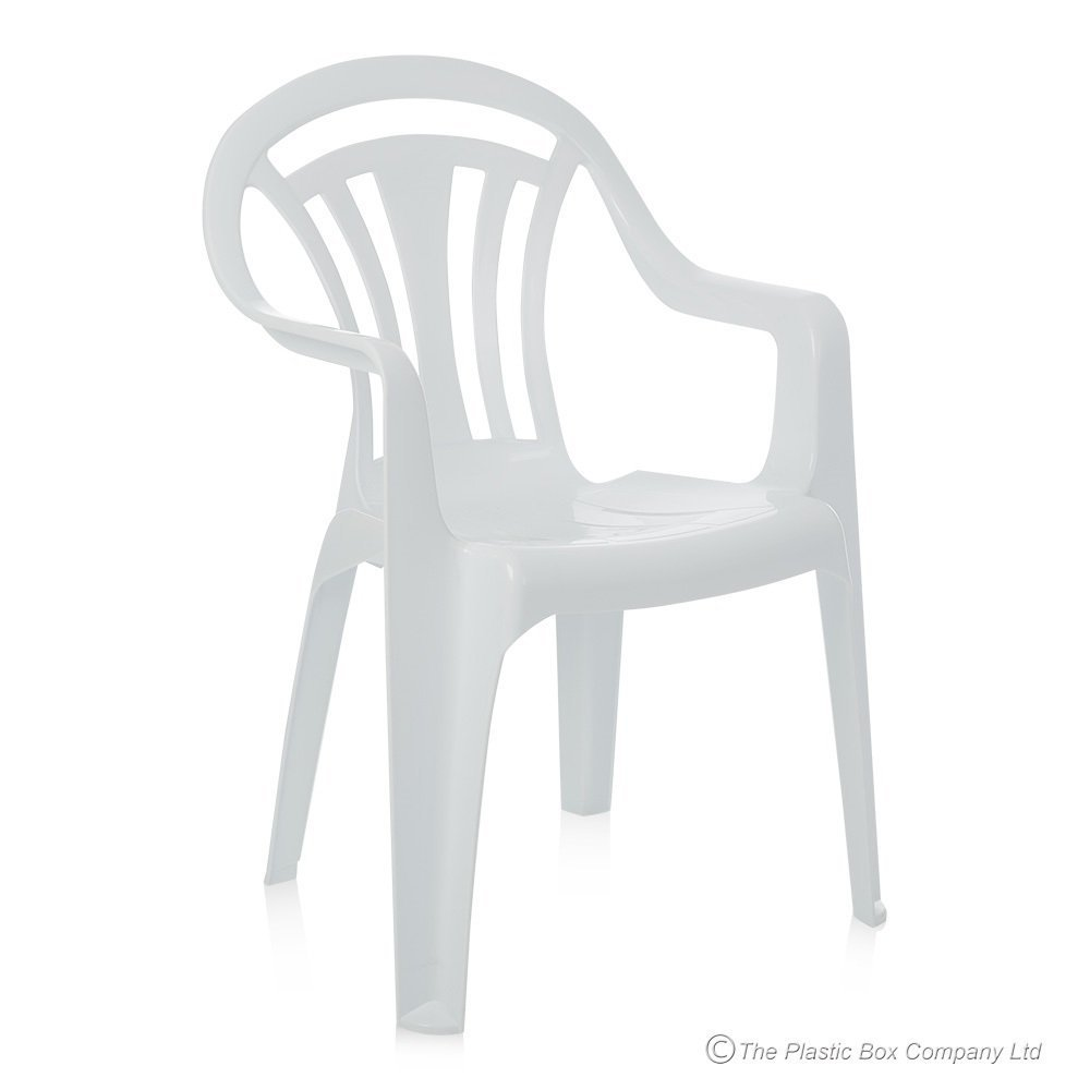Low Back Plastic Garden Chair   Colour Green  Amazon co uk  Kitchen   Home. Low Back Plastic Garden Chair   Colour Green  Amazon co uk