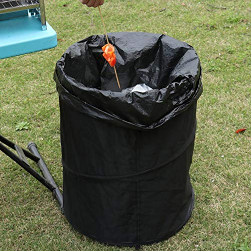 Faltbare Mülleimer Tragbare Falten Oxford Tuch Lagerung Eimer Garten Blätter Home Storage Eimer Garten Liefert für Camping Recycling und Mehr