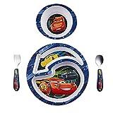 The First Years Disney - Juego de comida Cars