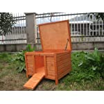 BUNNY BUSINESS Rabbit/ Guinea Pig Giant Hide House/ Run Hutch, Extra Large, 60 × 47 × 50 cm 12