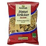 Alnatura Bio Dinkelkräcker Sesam, 175 g -