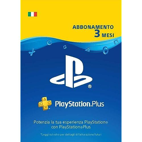 PlayStation Plus Abbonamento 3 Mesi | Codice download per PSN - Account italiano