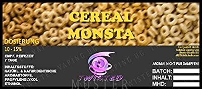 Twisted Aroma Cereal Monsta von Twisted Vaping