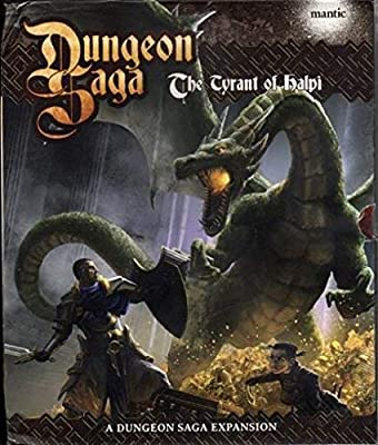 Mantic Games MGDS06 Dungeon Saga le tyran de Halpi (Expansion - Édition anglaise)
