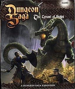 Mantic Dungeon Saga MGDS06  The Tyran of Halpi (Expansión-Edición Italiana)