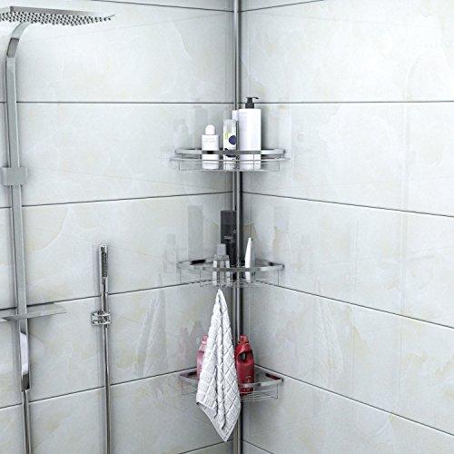 Lifewit estante de ba o rinconera estanter a ducha for Estanterias ducha bano