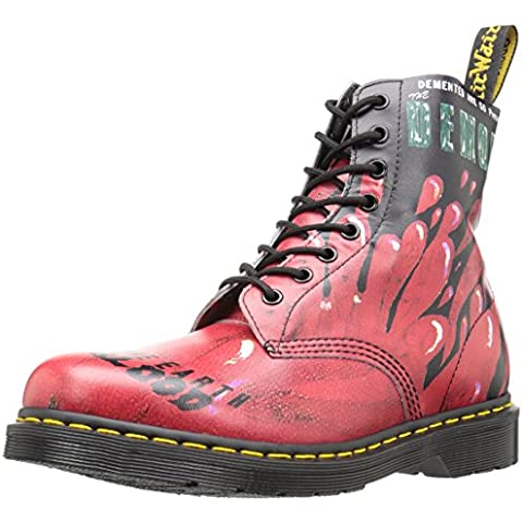 Dr. Martens Pascal 8 hoyos Spectra Patente Cherry Red Charol