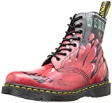Dr Martens Demented Are Go Pascal Boots (Black/Red)