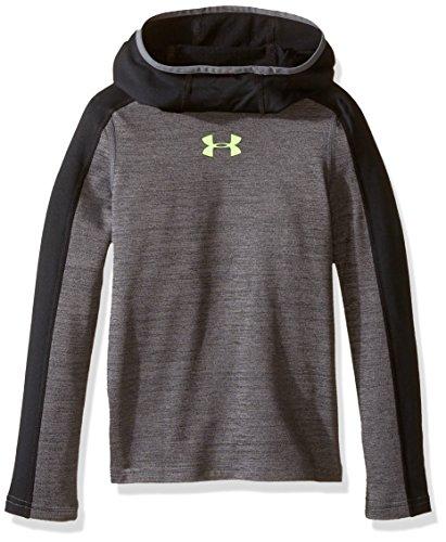 Under Armour Jungen Up Cg Ninja Hood Fitness-Sweatshirts, Graphit, YL Heatgear Hood