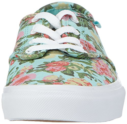 Vans CAMDEN Mädchen Sneakers Mehrfarbig ((Tapestry) blue tint/white)