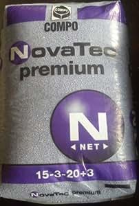 Compo engrais novatec premium 15 3 20 blaukorn engrais 3 for Engrais 3 fois 15