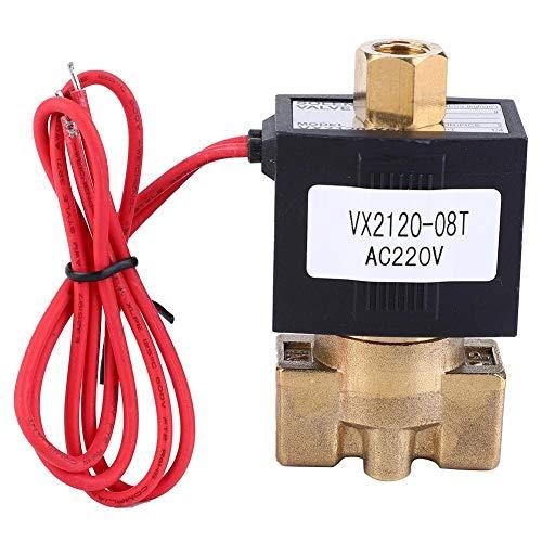 Magnetventil SMC Typ NO 2-Wege 0-1,0 MPa Luftmagnetventil AC 220 V PT1 / 4 Direktwirkendes Magnetventil für Wasser, Luft, Dampf, Gas usw -