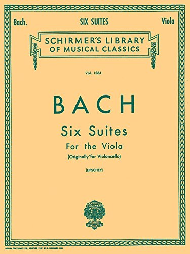 6 Suites: Viola Solo